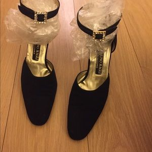 Bruno Magli Couture Black Heels
